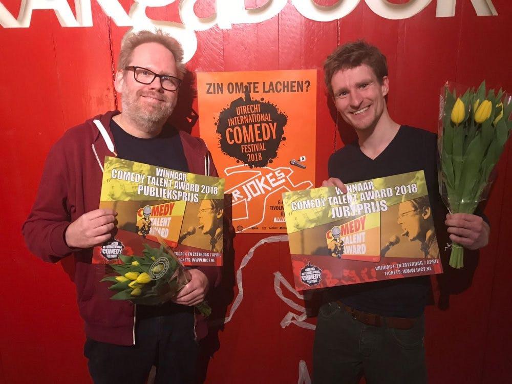 Utrechters vallen in de prijzen tijdens Comedy Talent Award