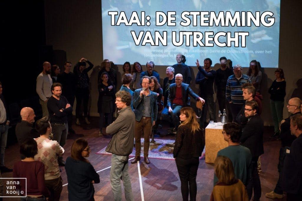 Alternatieve verkiezingsavond van TAAI Utrecht: de Stemming van Utrecht