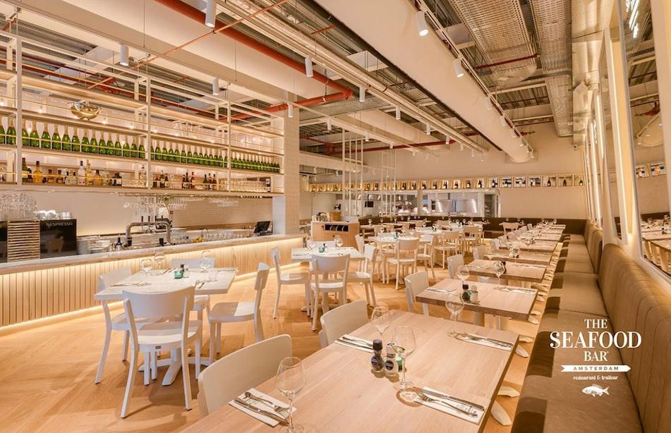 The Seafood Bar opent maandag de deuren op het Stationsplein in Utrecht
