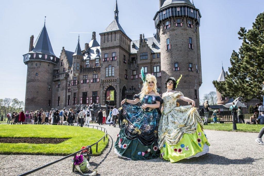 Foto's: De fantasiewereld Elfia strijkt neer bij Kasteel de Haar