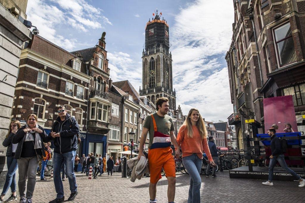 Foto's: Utrecht kleurt oranje tijdens Koningsdag