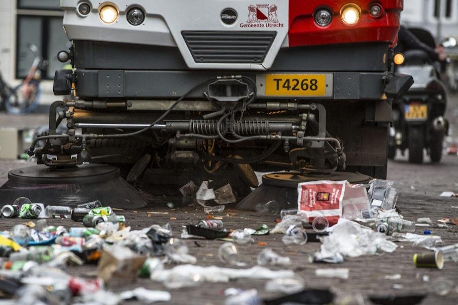 Verschillende gemeentevoertuigen blijken te zwaar voor de Utrechtse binnenstad