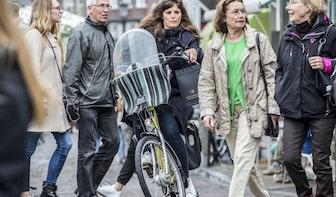 Foto's: Laatste weekend fietsen over de Vismarkt
