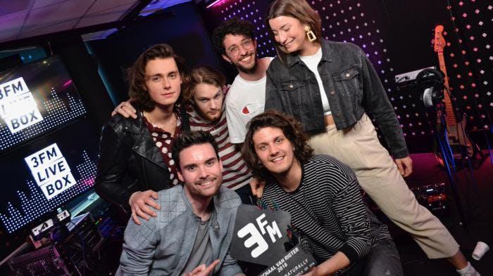 Utrechtse band Rondé sleept  3FM Award in de wacht voor meest gedraaide nummer
