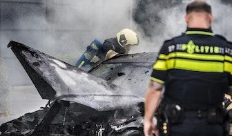 Aantal autobranden in Utrecht in 2020 wederom gedaald; brandweer moest 119 keer uitrukken