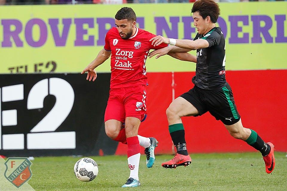 FC Utrecht weet ook niet te winnen van FC Groningen