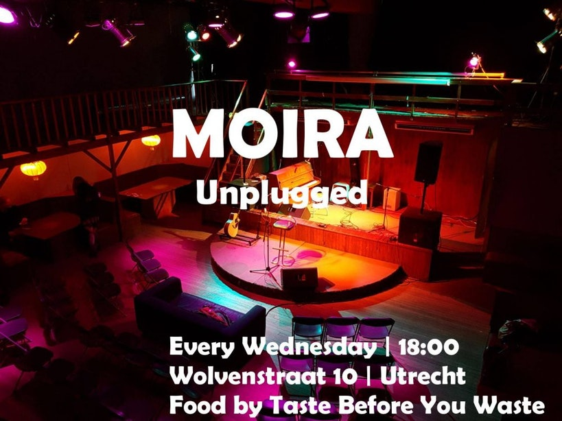 Dagtip: Open mic + Food by TB4YW bij Moira Unplugged