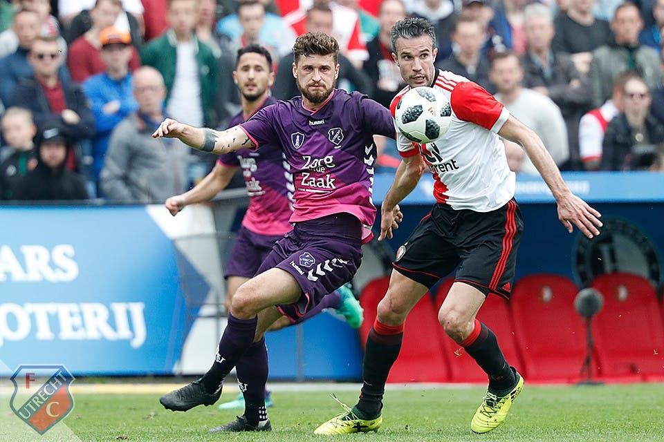 FC Utrecht maakt zich na nederlaag in De Kuip op voor play-offs