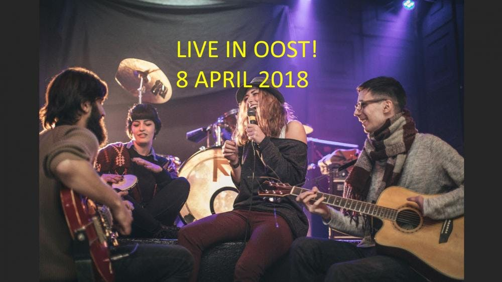 Dagtip: Negentien gratis optredens tijdens 'LIVE IN OOST!'