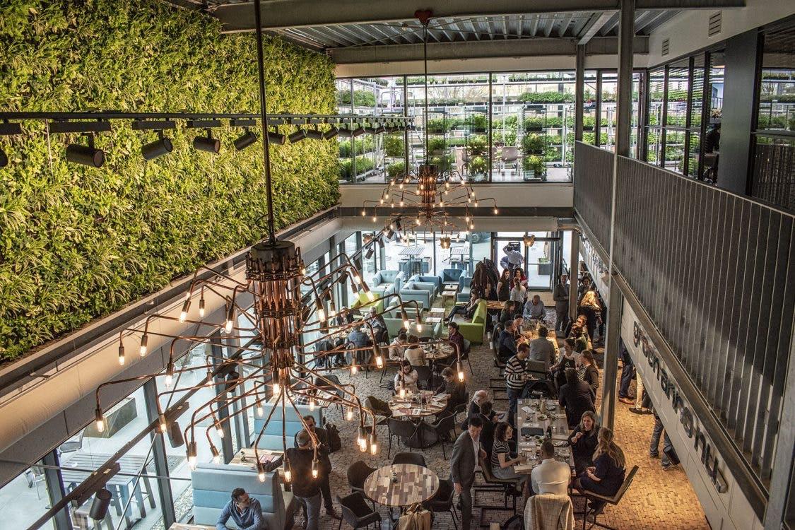 Nieuw duurzaam horecaproject The Green House geopend aan de Croeselaan