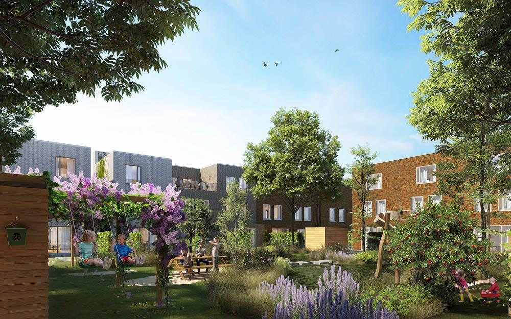 Bouw nieuwe woonwijk Leeuwesteyn in Leidsche Rijn begint in 2019