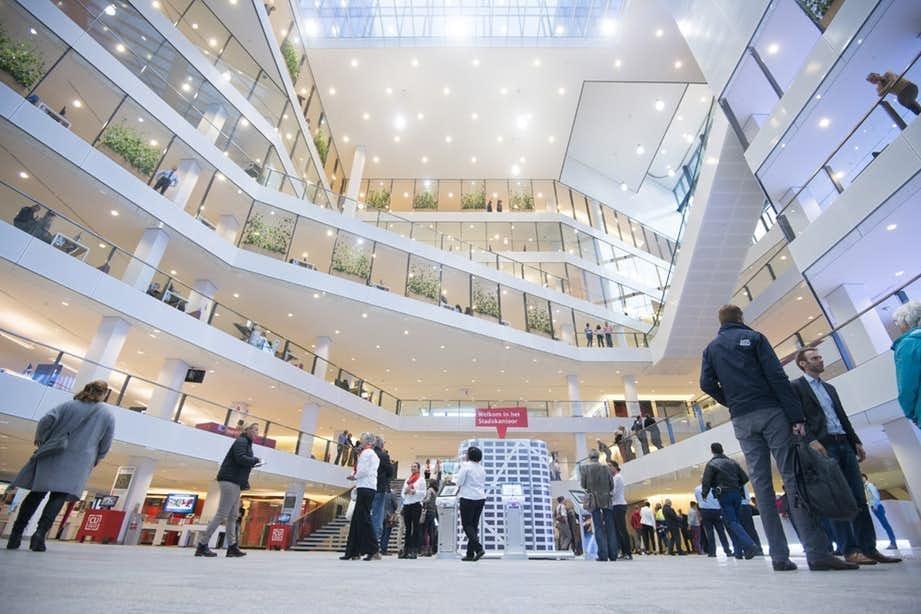 Utrechters kunnen voor een flitshuwelijk terecht bij een balie in Stadskantoor