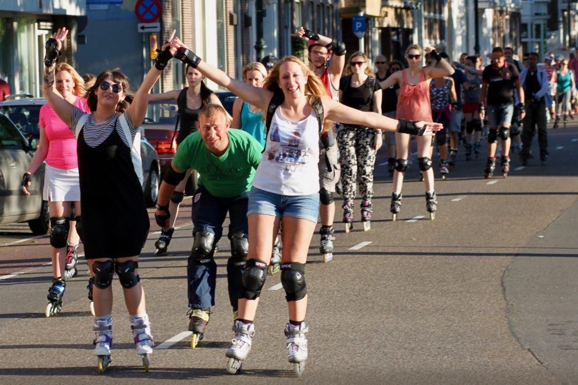 Utrecht Skate Parade gaat volgende maand weer van start