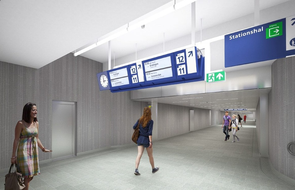 Middentunnel Utrecht Centraal tijdelijk afgesloten voor werkzaamheden