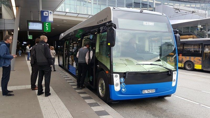 Innovatieve elektrische bus vandaag getest in Utrecht