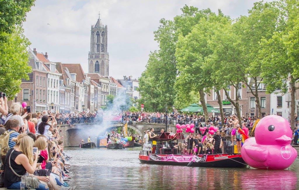 Kano's openen Utrecht Canal Pride 2018