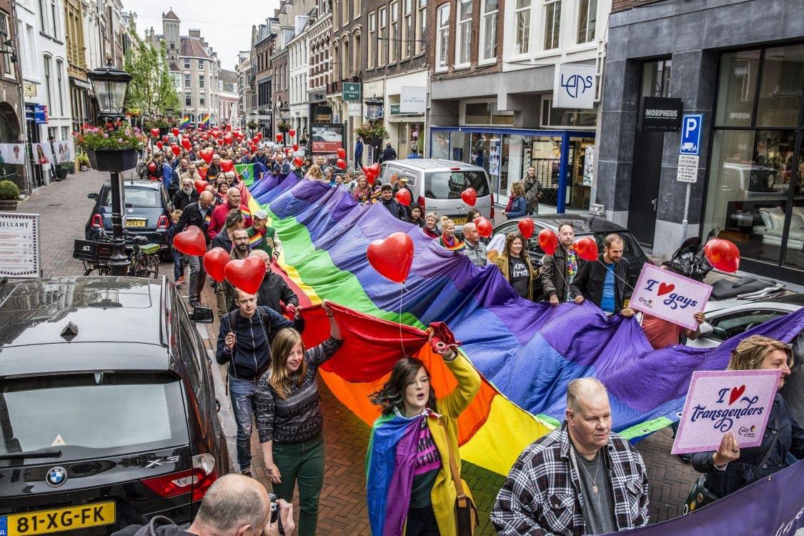 Gemeente Utrecht scoort een voldoende in de Regenboog Monitor
