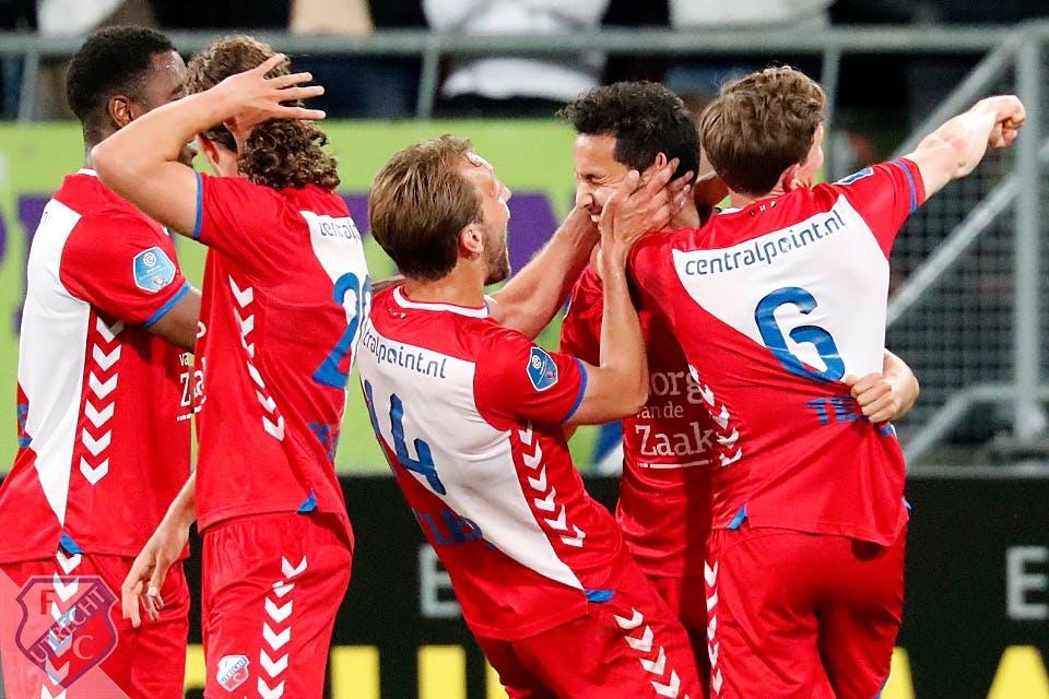 FC Utrecht knokt zich naar finale play-offs