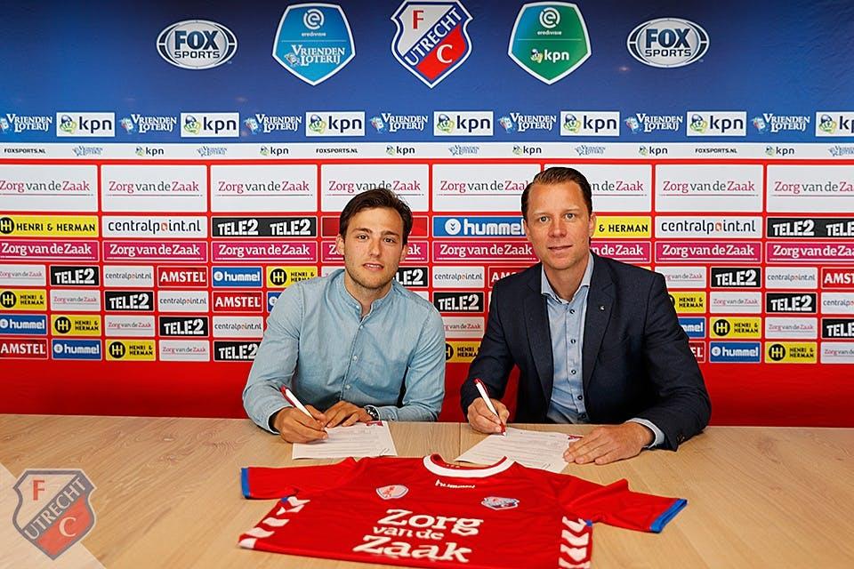 Joris van Overeem voor vier jaar naar FC Utrecht