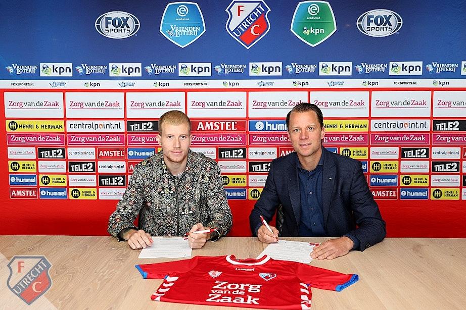 FC Utrecht pakt door en legt ook Simon Gustafson vast