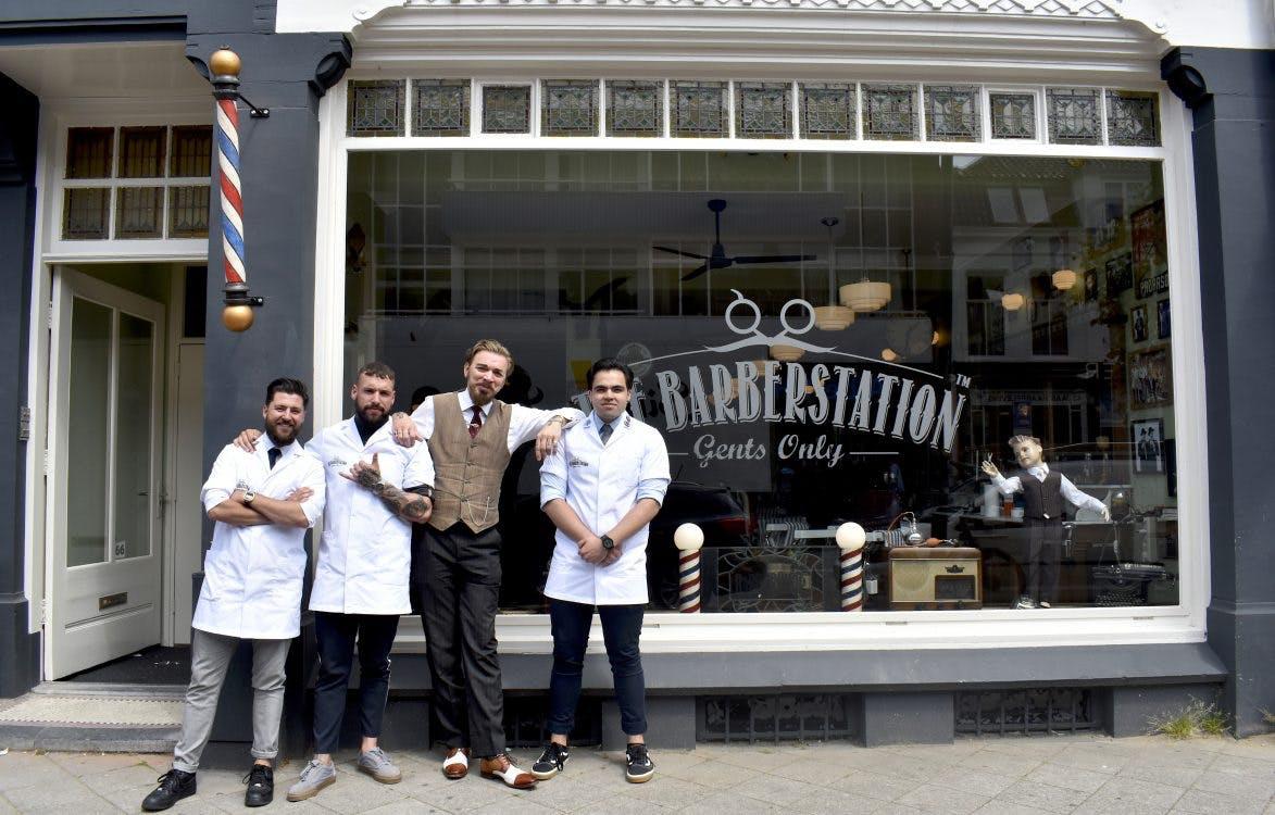 The Barberstation opent vestiging aan de Nachtegaalstraat: 'Onze jongens beoefenen een traditionele ambacht'