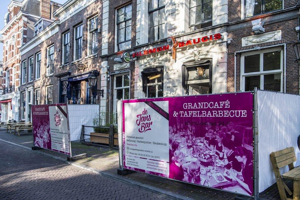 Filemon aan Janskerkhof wordt omgebouwd naar grand café met all you can eat BBQ