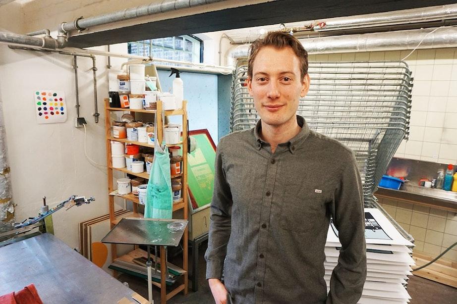 Utrechts gemaakt: De zeefdrukwerkplaats in Wolvenplein