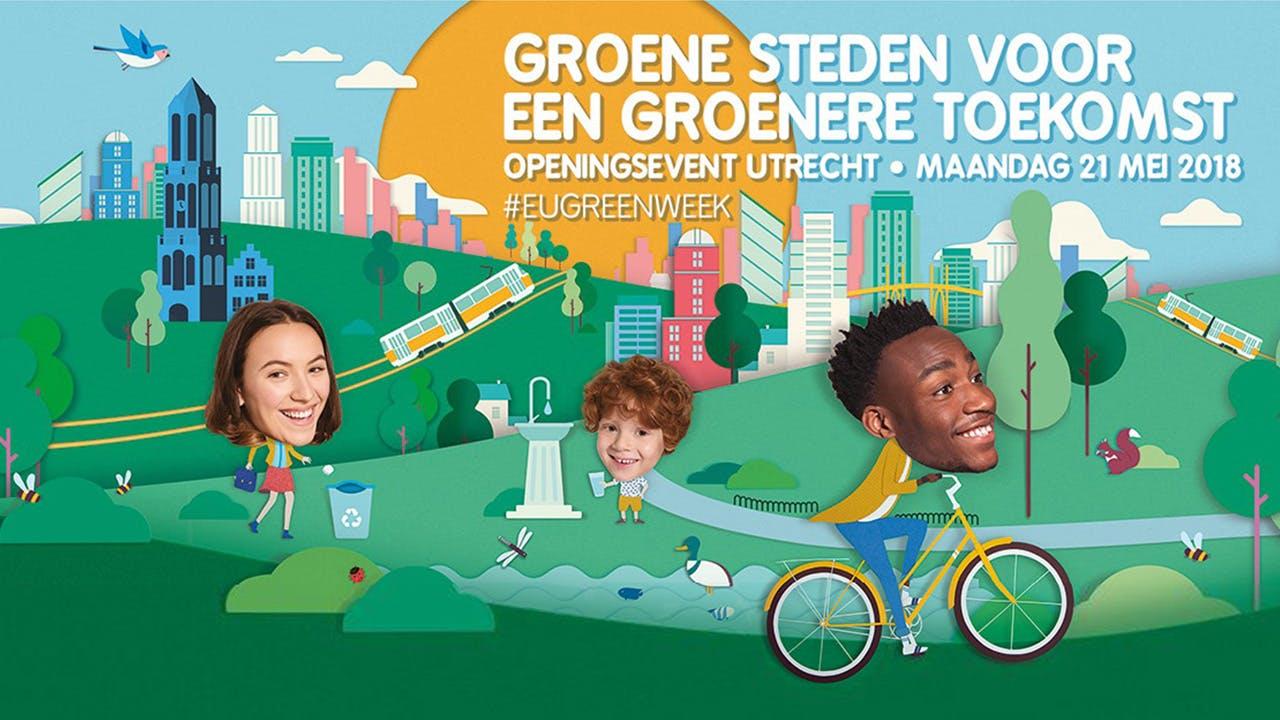 EU Green Week festival: zo maken we van Utrecht een groene en duurzame stad