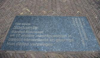 Geheimen van de stad: Gedenksteen voor sodomieprocessen