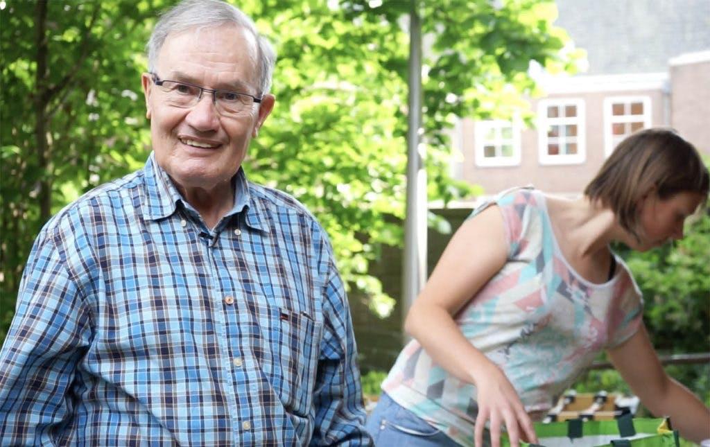 Videoportret van Henk; al 21 jaar vrijwilliger van het Utrechtse Smulhuis