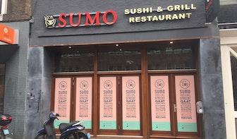 Sushirestaurant Sumo aan de Potterstraat gesloten; exploitatie gestaakt en vergunning ingeleverd