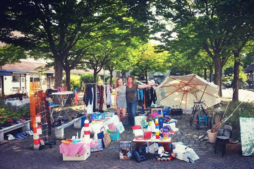 Dagtip: De grootste (rommel-)markt van Lunetten