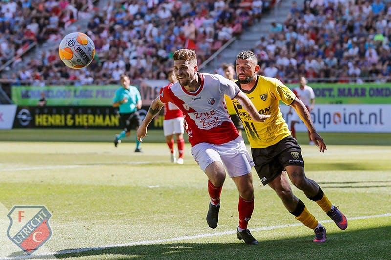FC Utrecht wint laatste competitiewedstrijd en wordt vijfde