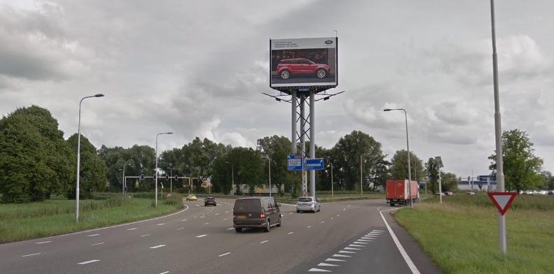 snelwegmast snelwegreclame utrecht buitenreclame