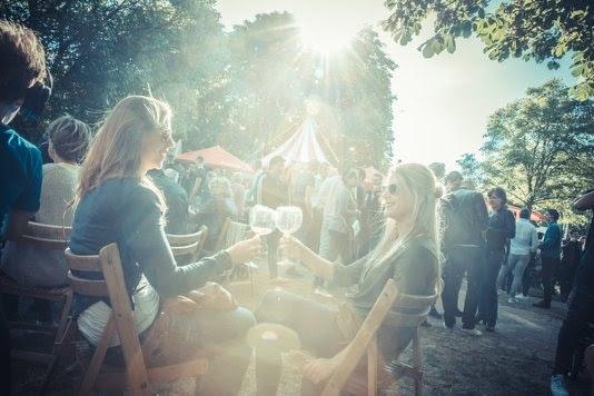 Griftpark deze week weer omgetoverd tot festivalterrein tijdens Trek