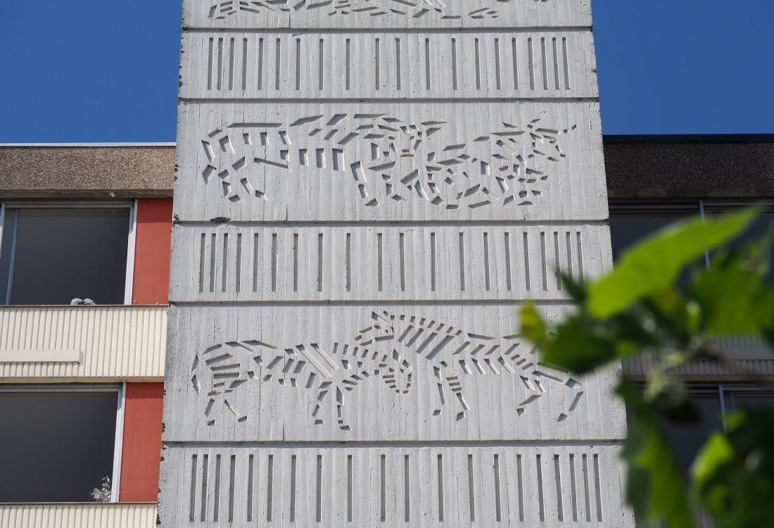 De Zoo van Zuylenstede – meer betonreliëfs in Overvecht