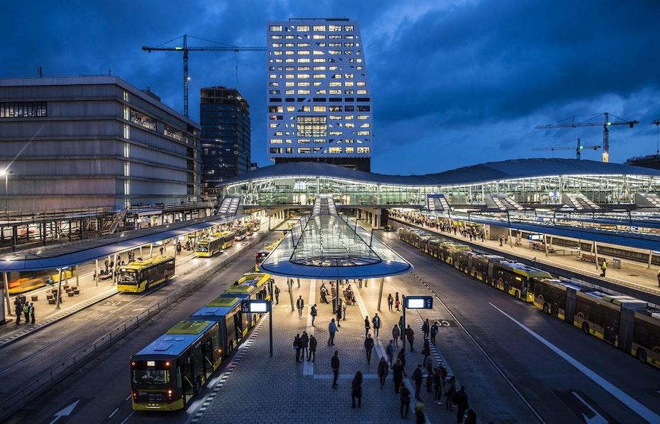 Bekijk hier wat er allemaal nog gaat gebeuren in het Utrechtse stationsgebied