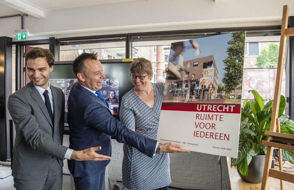 Utrecht presenteert plannen komende vier jaar: 'ruimte voor iedereen'