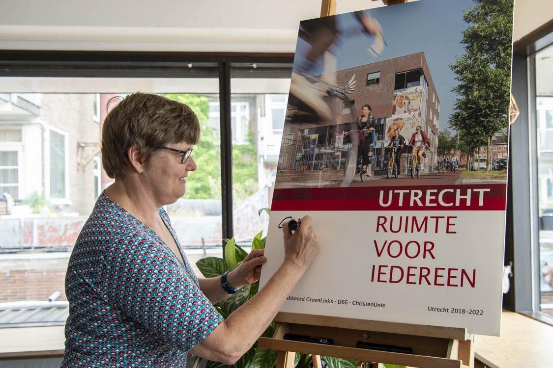 Geen reken- maar drukfout zorgt voor verschil half miljoen in Utrechts coalitieakkoord