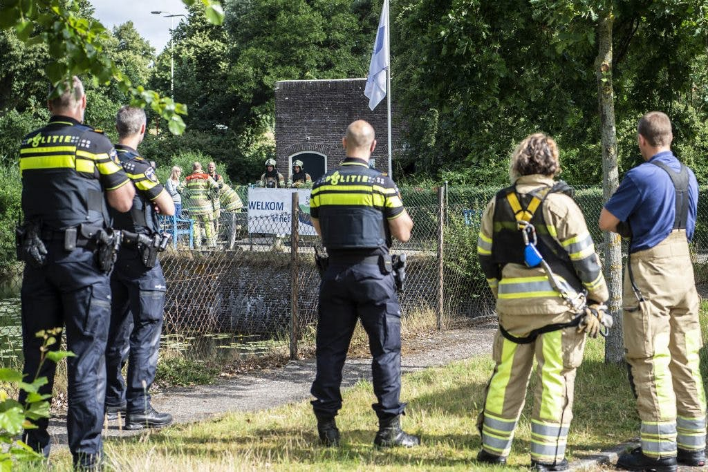 Brand in monumentaal fort Lunet in Utrecht