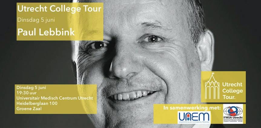 Dagtip: Paul Lebbink bij Utrecht College Tour in UMC