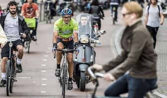 Snorfietsen moeten in mei 2019 op de rijbaan in Utrecht