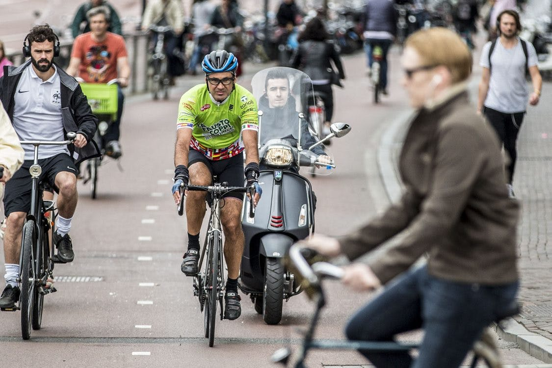 Snorfiets volgend jaar definitief verbannen van het fietspad in Utrecht
