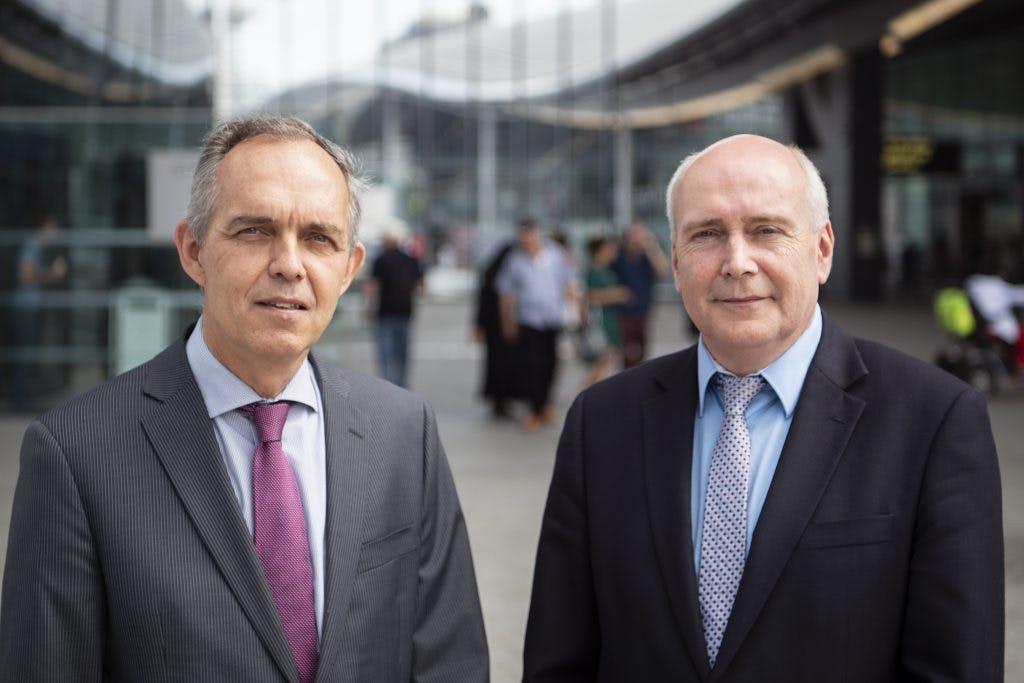 Interview met scheidende wethouders Kees Geldof en Paulus Jansen: Een VVD'er en SP'er samen aan het roer