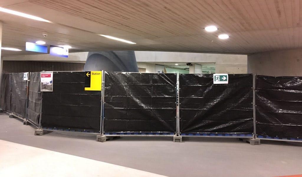Middentunnel station Utrecht Centraal pas in september weer open