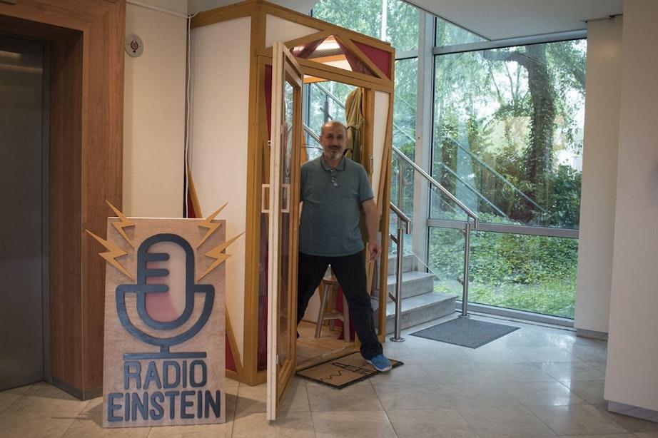 Radio Einstein vertelt het verhaal van asielzoekers in Overvecht