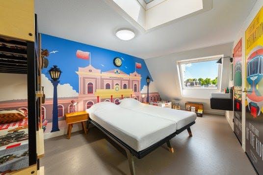 Spoorwegmuseumkamer in Stayokay aan de Neude geopend