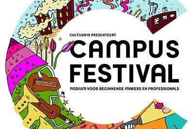 Dagtip: Gratis optredens bij het Campusfestival in Vleuten