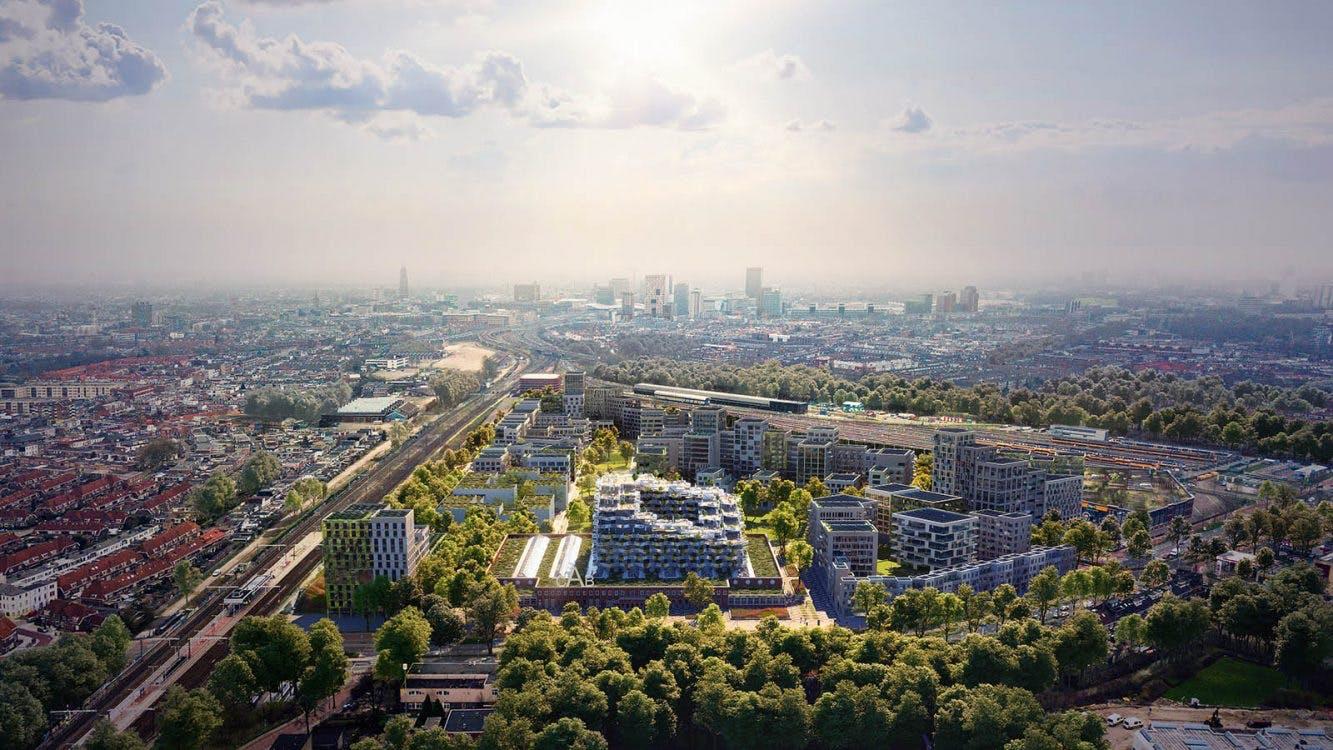 Nieuwe Cartesiusdriehoek moet meest gezonde wijk van Nederland worden