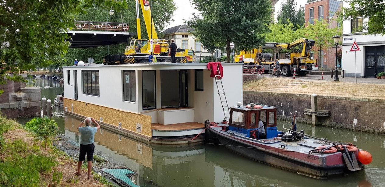 Spectaculaire woonbotenwissel in Utrecht: 'We gingen als een speer'